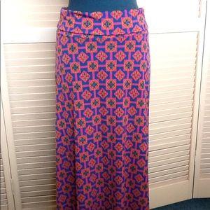 LuLaRoe long maxi skirt size small